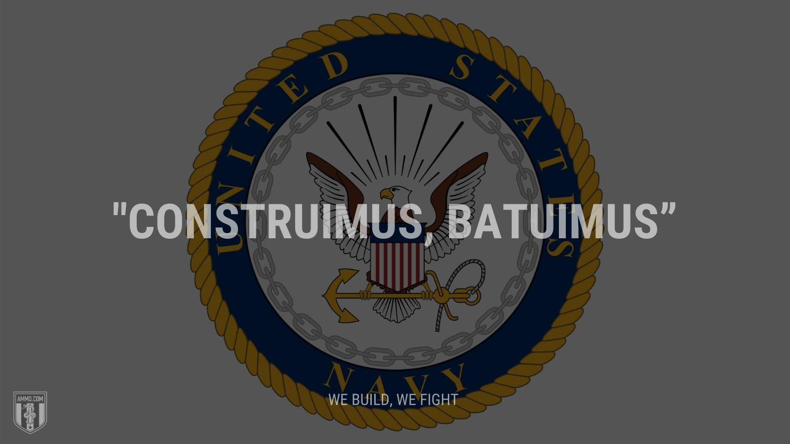 """""""Construimus, batuimus"""" - We build, we fight"""